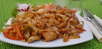 Thai-Nudeln im Thai Thai