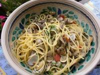 Rezept spaghetti alla vongole sacre e profane foodblog for Vongole veraci wikipedia