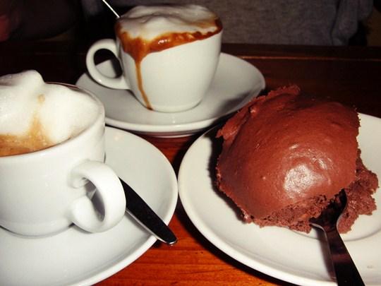 Espresso & Profiteroles
