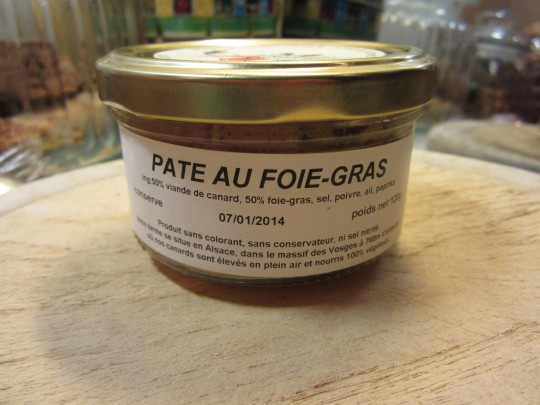 Pate au Foie Gras - mit Baguette ein guter Happen