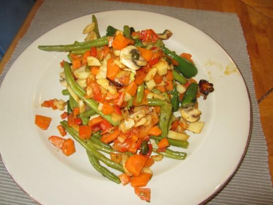 Sieht gut aus und schmeckt: Gemüse macht nicht nur Vegetarier happy.