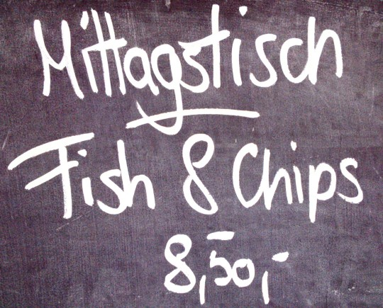 Fish & Chips in der Pescheria