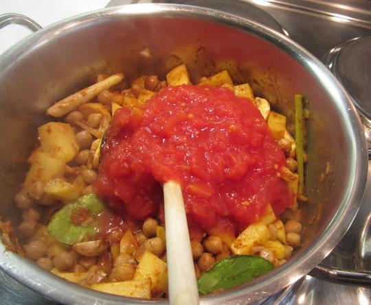 Rein mit den Tomaten!