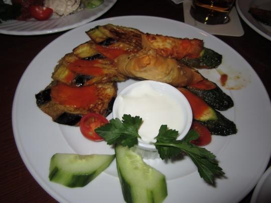 Warme Vorspeisen: Aubergine, Zucchini & Co.