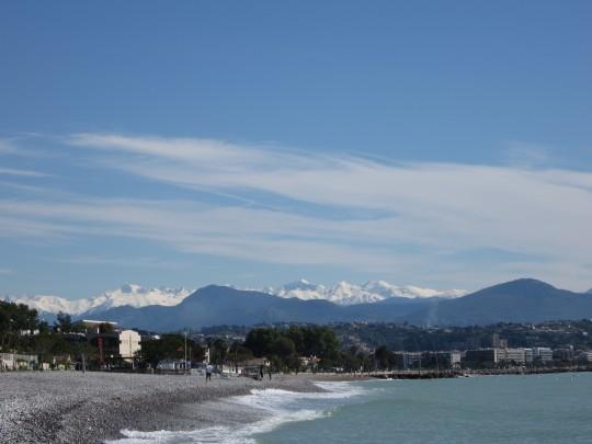 Am Strand von Villeneuve-Loubet