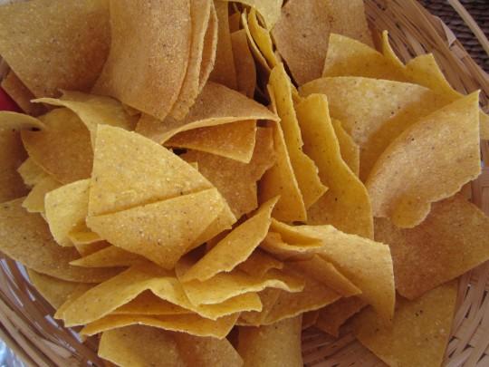 Typisch Mex-Food: ohne Tortilla-Chips geht es nicht