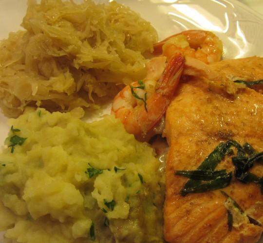 Fisch und Kraut schmeckt gut zusammen!