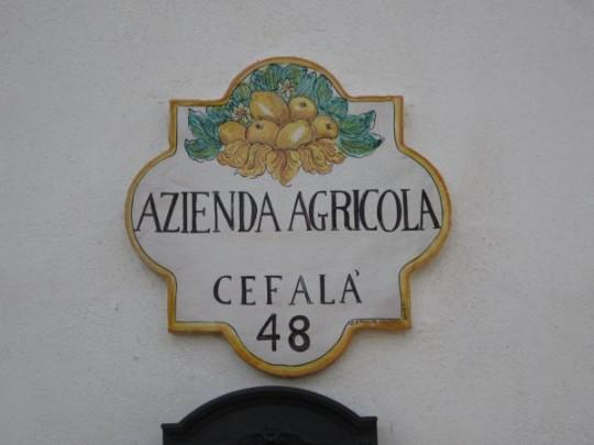 Die Villa Cefalà - Agritourismo mit Slow Food