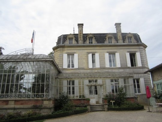Was fürs Auge: das Chateau Carbonneau