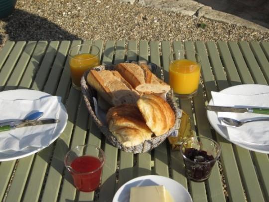 Frühstück ist fertig!