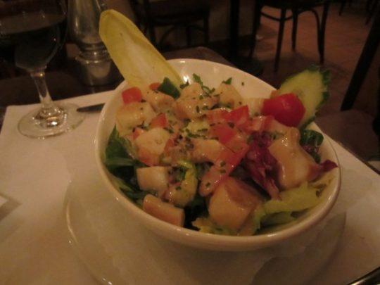 Salat mit Palmherzen