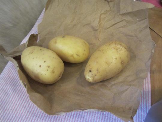 Gnocchi selber machen: Kartoffeln